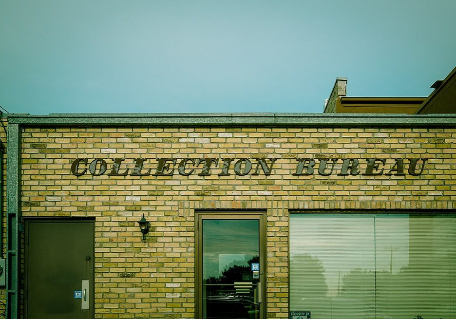 A debt collection agency in Little Falls, Minnesota. (Photo credit: Tony Webster/Wikimedia Commons)