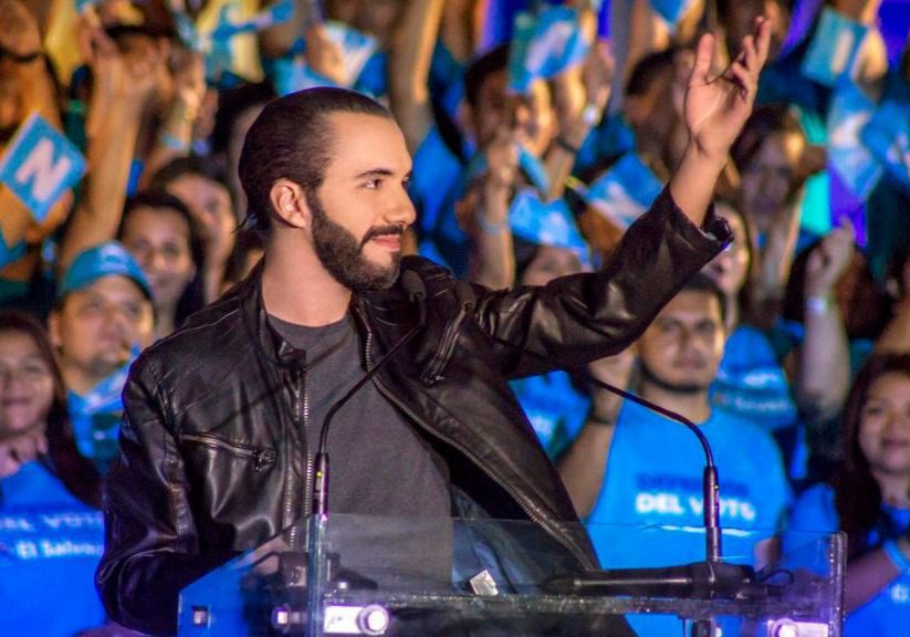 El Salvador's President Nayib Bukele is cracking down on violent criminal gangs and confronting the opposing political parties behind the country's brutal 1980s civil war. But is he an authoritarian in the making? (Photo source: Medium.com/Uncredited)