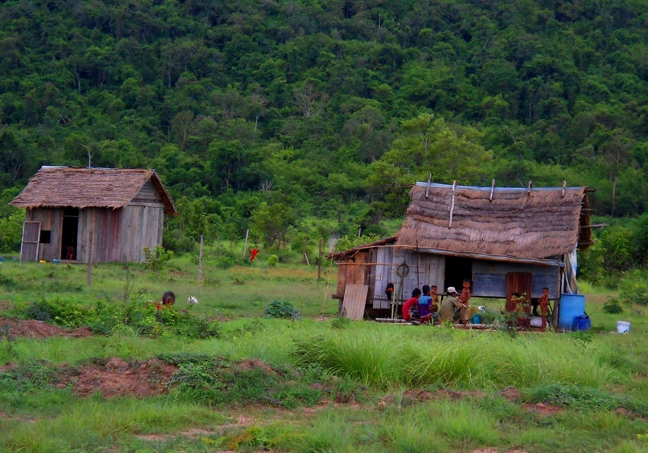 Poverty at the rural border between Pursat and Koh Kong provinces, Cambodia. Credit: Stig Berge/Flickr Creative Commons