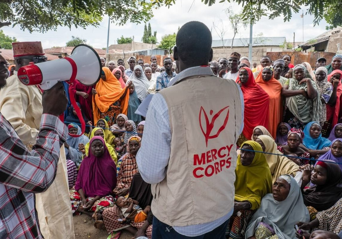 A Mercy Corps operation in Nigeria. Photo credit: Tom Saater/Mercy Corps