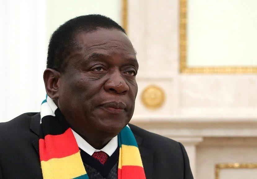 Zimbabwe's President Emmerson Mnangagwa (Source: Kremlin)