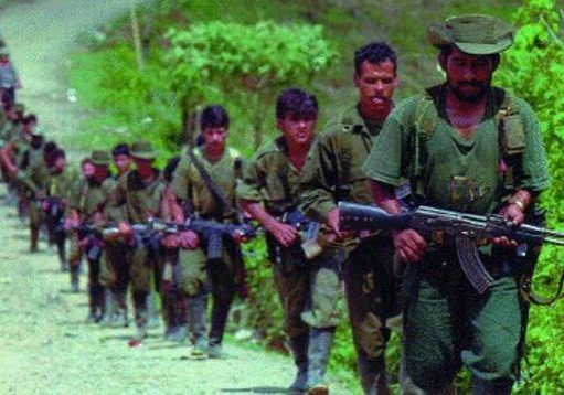 FARC troops. Source: Institute for National Security Studies