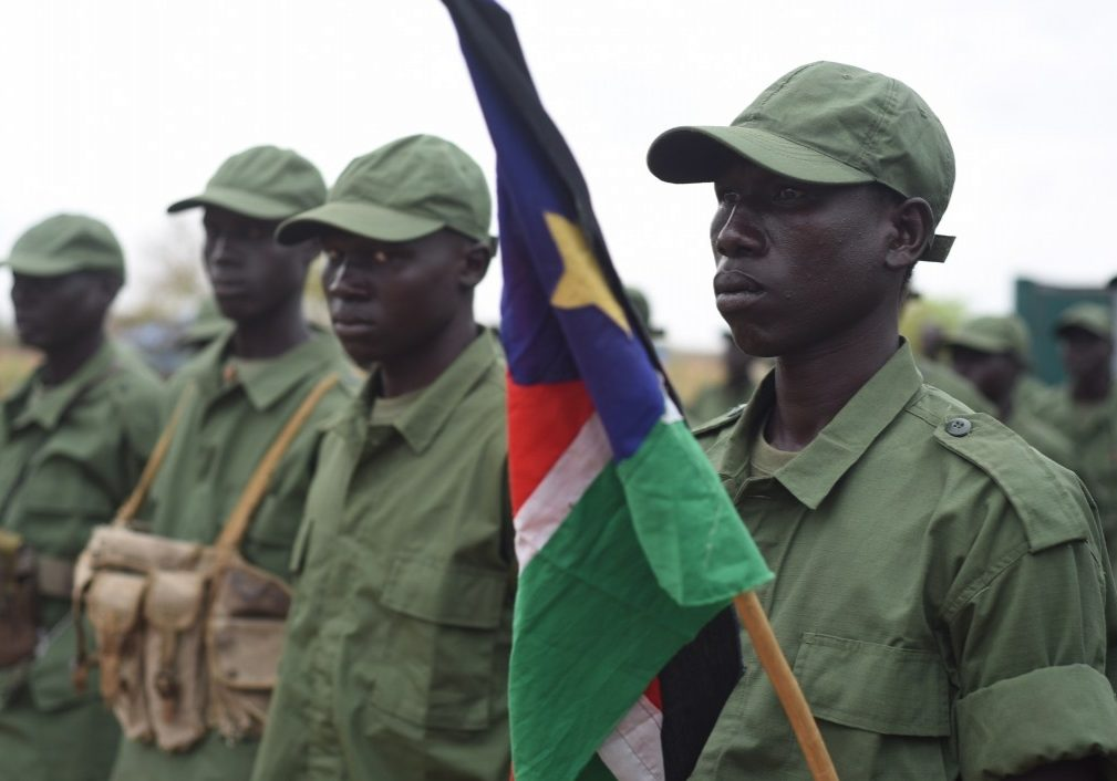 Rebel soldiers in South Sudan in 2016. Photo source: VOA