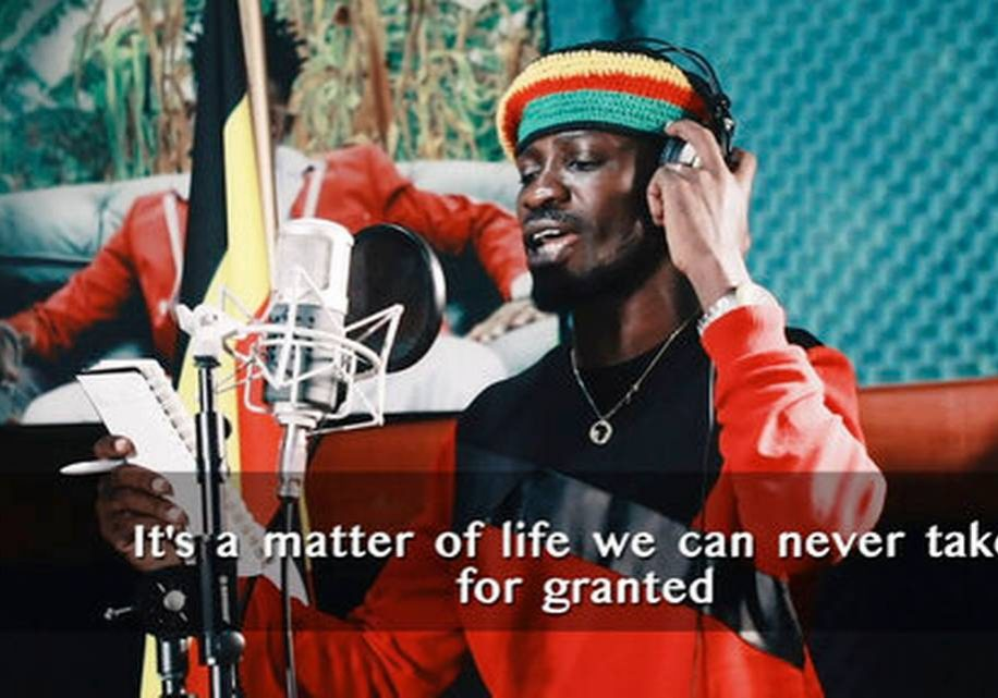 "Ugandan pop star Bobi Wine's ""Coronavirus Alert,"" sung with Nubian Li, is a reggae-inflected anthem about social distancing and hand washing in the age of pandemic. (Photo source: Handout)"