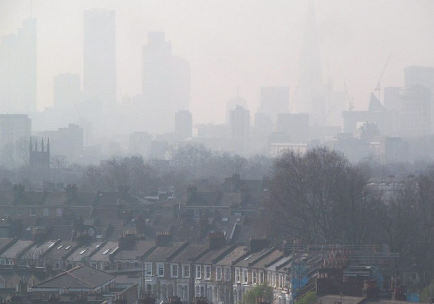 Air pollution in London. (Photo source: Flickr Creative Commons)