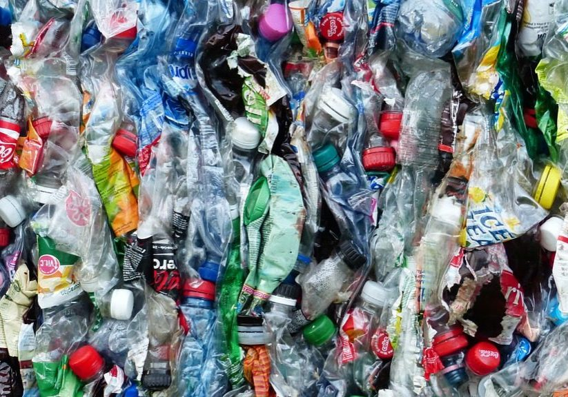 Plastic bottles collected for recycling. Photo source: Pixabay/Creative Commons