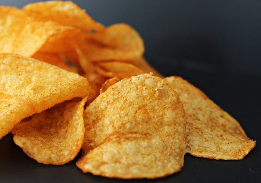 Potato chips. Photo credit: Pixabay