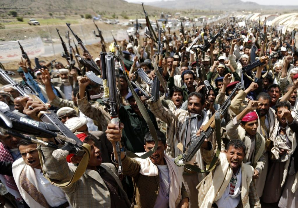 Houthi rebels in Yemen. (Photo credit: Jamestown.org)